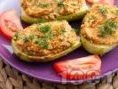 Рецепта Пълнени тиквички с картофи